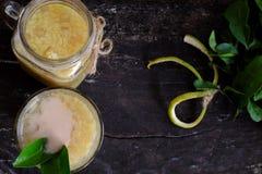 Grapefruit sweet gruel, Vietnamese sweet soup Royalty Free Stock Photos