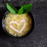 Grapefruit sweet gruel, Vietnamese sweet soup Royalty Free Stock Photography