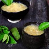 Grapefruit sweet gruel, Vietnamese sweet soup Stock Photo