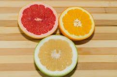 Grapefruit, sweety and orange Royalty Free Stock Photo
