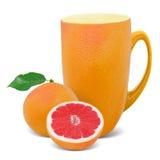 Grapefruit tea Royalty Free Stock Photography