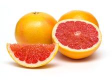 Grapefruit  on white background. Royalty Free Stock Photography