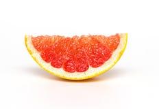 Grapefruit  on white background. Stock Photos