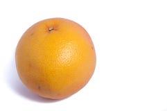 A grapefruit. Grapefruit on white background close up stock photos