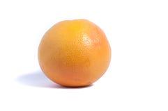 A grapefruit. Grapefruit on white background close up stock photo
