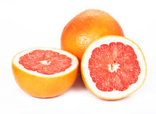 Grapefruit, white background Royalty Free Stock Photography