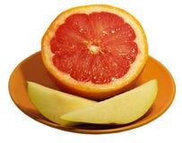 grapefruitowa bonkreta Zdjęcie Royalty Free