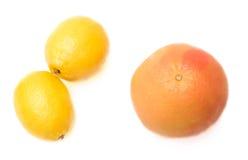 grapefruitowa cytryna obrazy royalty free
