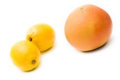 grapefruitowa cytryna zdjęcia stock