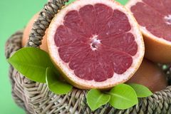 grapefruitowa czerwień Fotografia Stock