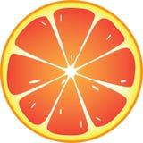 Grapefruitowa ikona ilustracji