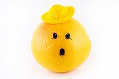 grapefruitowa nakrętki niespodzianka Zdjęcia Stock