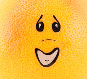 grapefruitowa osoba Obraz Stock