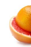 grapefruitowa pomarańcze Zdjęcie Royalty Free