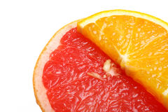 grapefruitowa pomarańcze Zdjęcia Royalty Free