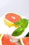 grapefruitowe skały zdjęcie stock