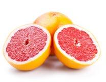 grapefruitowi plasterki Zdjęcia Royalty Free