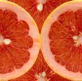 grapefruitowi plasterki Obrazy Royalty Free
