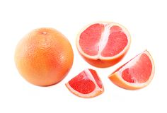 Grapefruitowy Obrazy Royalty Free