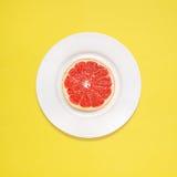 Grapefruitowy dla śniadania Zdjęcia Royalty Free