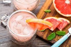 Grapefruitowy koktajl Zdjęcie Stock