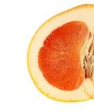 Grapefruitowy odosobniony Zdjęcie Royalty Free
