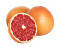 grapefruitowy odosobniony na białym tle Fotografia Stock