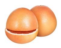 grapefruitowy odosobniony na białym tle Zdjęcia Stock