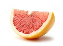 Grapefruitowy plasterek obrazy royalty free