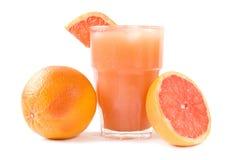 grapefruitowy sok Fotografia Royalty Free