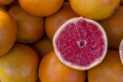 Grapefruitowy tło Zdjęcia Stock