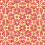 Grapefruitowy wzór Zdjęcie Stock