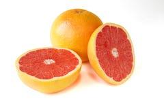 Grapefruitowy z segmentami Fotografia Stock