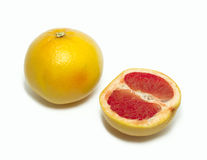 Grapefruits 1. One and a half of grapefruit Stock Photography