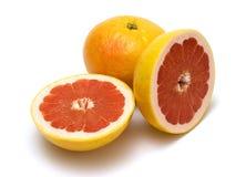 Grapefruits. Isolated on white background Royalty Free Stock Photo