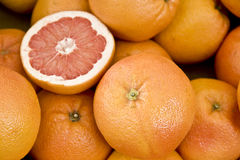 Grapefruits Stock Photography