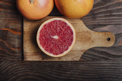 grapefruits Fotografia de Stock