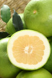 Grapefruits. Green and fresh grapefruits - food and drink Royalty Free Stock Images