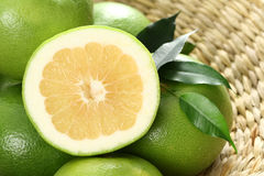 Grapefruits. Green and fresh grapefruits - food and drink Stock Images