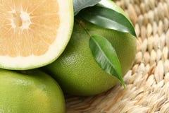 Grapefruits. Green and fresh grapefruits - food and drink Stock Photos