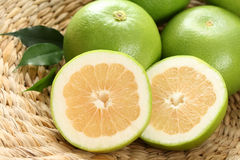 Grapefruits. Green and fresh grapefruits - food and drink Stock Image