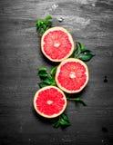 grapefruits dojrzali Obraz Royalty Free