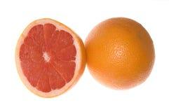 grapefruits dwa zdjęcia royalty free