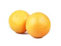 Grapefruits isolated on white Royalty Free Stock Image