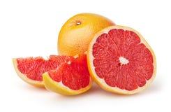 Grapefruits isolated on white background Royalty Free Stock Image