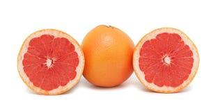 grapefruits odizolowywający zdjęcia stock