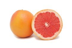grapefruits odizolowywający obraz stock