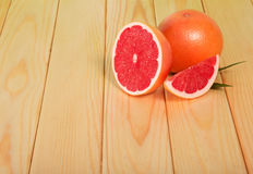 Grapefruits segments Royalty Free Stock Photography