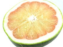 Grapefruits zieleni przedmiota zakończenie up zdjęcie stock