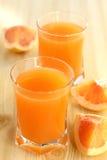 Grapefruitsaft. Lizenzfreies Stockbild